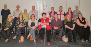 WFY team - new entrepreneurs with their advisers
