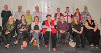 WFY team - new entrepreneurs with their advisers