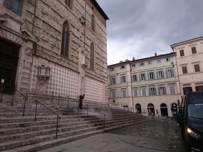 Hosing stairs