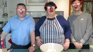 three blind mice ready to bake!