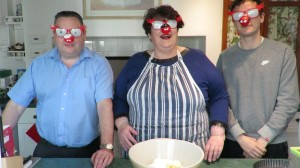 three blind mice ready to bake!