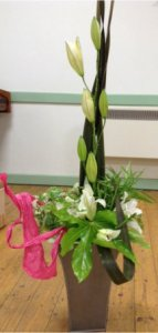 Lily flower arrangement